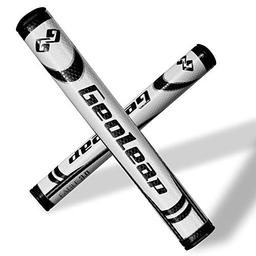 Geoleap Putter Grip- Soft Polyurethane Material,Round Shape, Light Weight Golf Grips,4 Colors and 4 Sizes to Choose.