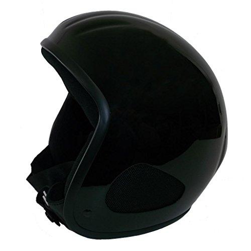 Skorpion TITAN-Kulthelm Glänzender Biker, Chopper, Ski, Harley, Jethelm in schwarz, Gr.: L