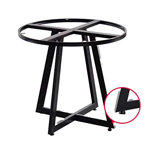 ZTMN metalen tafelpoten, ijzeren tafelstandaard, tafelpoot, bureau ronde tafel, koffietafelpoot, draagvermogen 300 Kg, hoogte 50 tot 100 cm, verstelbare hoogte (90cm)