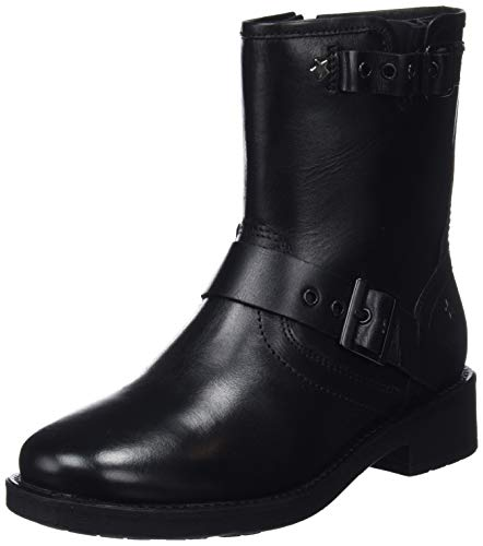 Pepe Jeans London Maddox Allys, Botas para Mujer, Negro (Black 999), 37 EU