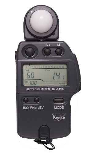 Kenko KFM-1100 Auto Digi Meter - Light Meter for Flash and Ambient Light