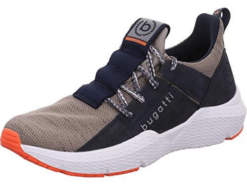 bugatti Herren 341730616900 Slip On Sneaker, Blau, 44 EU