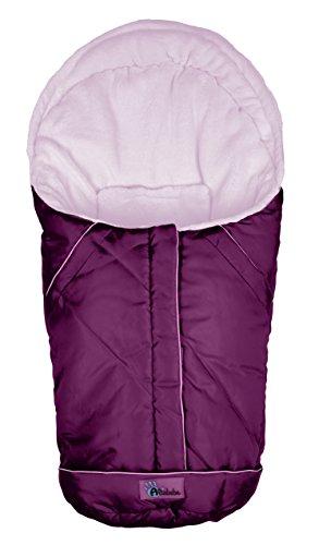Altabebe AL2003-07 Winterfußsack Nordic Kollektion für Babyschale und Car Seat, Gruppe 0+, pink-rosa