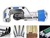 Digital Craft Pipe Cutter 5-50mm Tube Cutter with Ball Bearing Hobbing Cutting Blade for Stainless Steel Aluminum Copper Tube Hand Tools