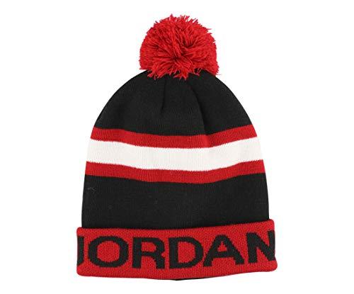 Kids' Jordan Go 2-3 Stripe Pom Beanie