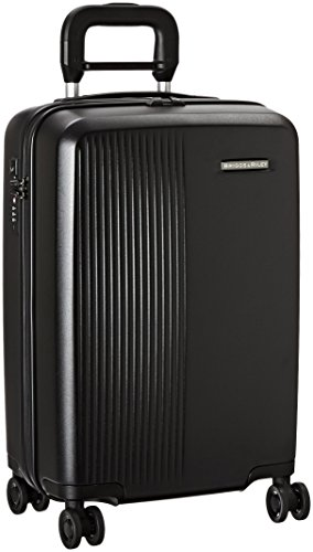Briggs & Riley Sympatico-Hardside Carry-on Spinner Luggage, Black, 21-Inch