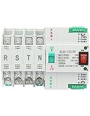 AC Interruptor de transferencia, 400V 4P 63/80 / 100A interruptor de palanca de transferencia automática de doble potencia