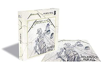 Metallica and Justice for All 500 Piece Jigsaw Puzzle from Plastic Head