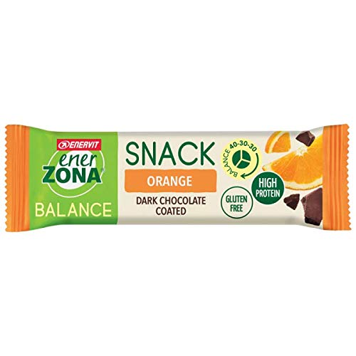 Enerzona Snack 40-30-30 ORANGE Dark Chocolate BOX 30 Barrette