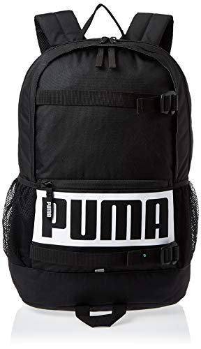 PUMA Deck Backpack Rucksack, Black, OSFA