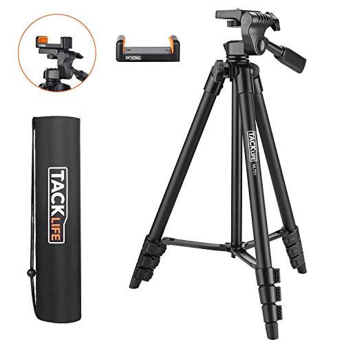 Treppiede, TACKLIFE MLT01 Treppiedi Flessibile Portatile 360 Gradi, Treppiedi Fotocamera, Treppiedi Livella Laser, Treppiede Leggero Estensibile Fino