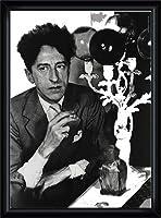 ポスター コムデギャルソン Comme des garcons Sixth sense Jean Cocteau 額装品 ウッドハイグレードフレーム(ブラック)