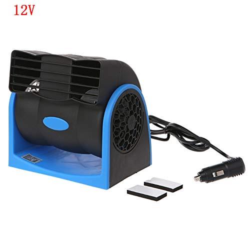 Condizionatore d'aria portatile per camion Raffreddamento d'aria per camion Raffreddamento silenzioso Mini condizionatore d'aria per auto, blu 12V