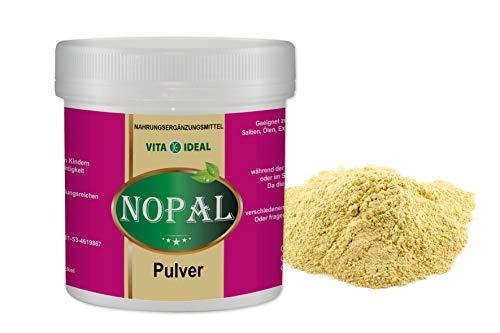 VITAIDEAL ® Nopal PULVER 100g (Feigenkaktus, Opuntia ficus indica) + Messlöffel von NEZ-Diskounter
