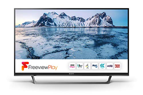 Sony Bravia KDL40WE663BU (40-Inch) Full HD HDR Smart TV (X-Reality PRO, Slim and streamlined design) - Black (2017 Model)