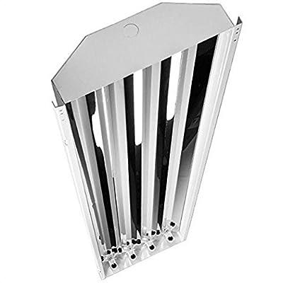 Fluorescent High Bay - 4 Lamp - F32T8 - 120/277 Volt - Four Bros Lighting HB-4/T8