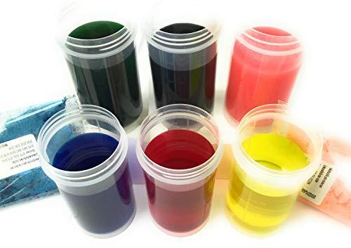 colores de alimentos de polvo soluble 6 x 12ml (10g