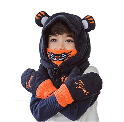 Cagoule - Masque Visage Fille/Garçon Multifonction Balaclava Chapeau Multifonction Masque pour Hiver Temps Ski Outdoor