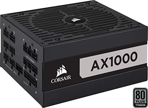 Corsair AX1000 Unidad de - Fuente de alimentación (1000 W, 100-240 V, 50-60 Hz, 13 A, 125 W, 996 W)