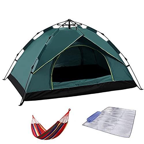 COJJ Mounta Mounta MOUNTS Instante Camping Camino, Tienda de 2 Personas, Tienda de Camping Familiar, Impermeable, Amplio, Ligero Tienda de mochileros portátiles para Camping al Aire Libre/Senderismo