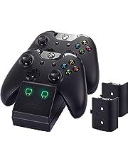 Venom - Twin Docking Station & Battery Packs Con Cubiertas (Xbox One)
