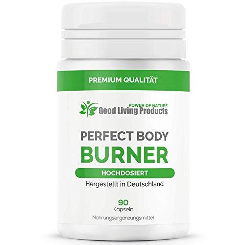 Perfect Body Burner - Das Original | Beliebt bei figurbewussten Menschen - 90 Kapseln - Hergestellt in Deutschland (1 Dose)