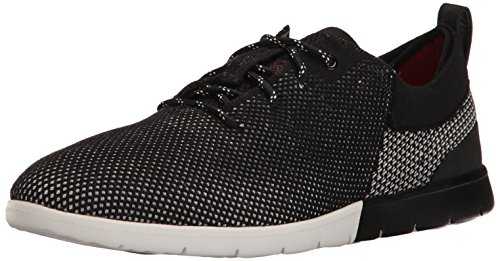 UGG Men's Feli Hyperweave Black Low Top Fashion Sneaker - 12M
