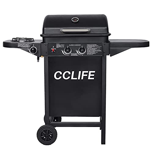 CCLIFE Gasgrill Grillwagen Gas Grill Barbecue Toronto Grill 2+1/4+1/6+1 Brenner TÜV