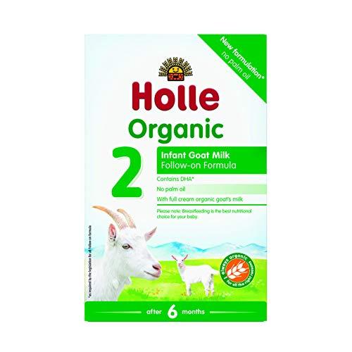 Holle Lait de chèvre bio nourrisson formule 2