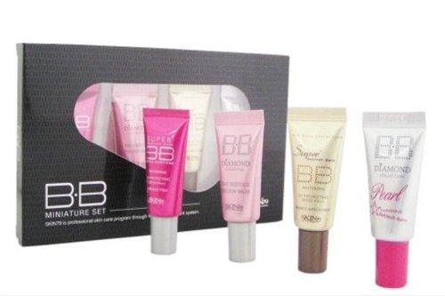 Skin79 BB Cream Miniature Mini Set (Black) 5g x 4