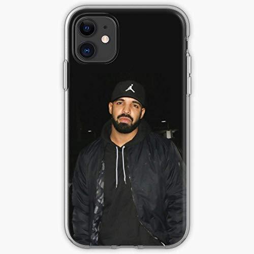 SGDIKL Compatibile con iPhone 12 11 PRO Max XR 6/7/8 SE 2020,Drake Ovo Hotline Owl God Toronto Bling Canada 6 Pure Clear Custodie per Telefono Drop Protection Cover