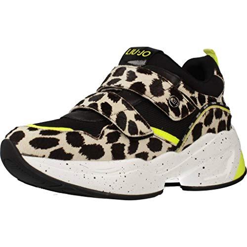 Calzado Deportivo para Mujer, Color Negro Blanco, Marca LIU-JO, Modelo Calzado Deportivo para Mujer LIU-JO Jog 09