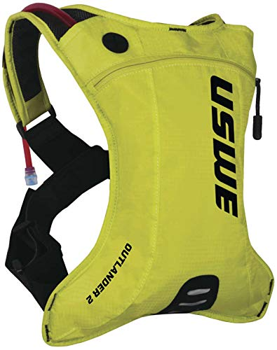 USWE Outlander 2L Hydration Backpack (Crazy Yellow)