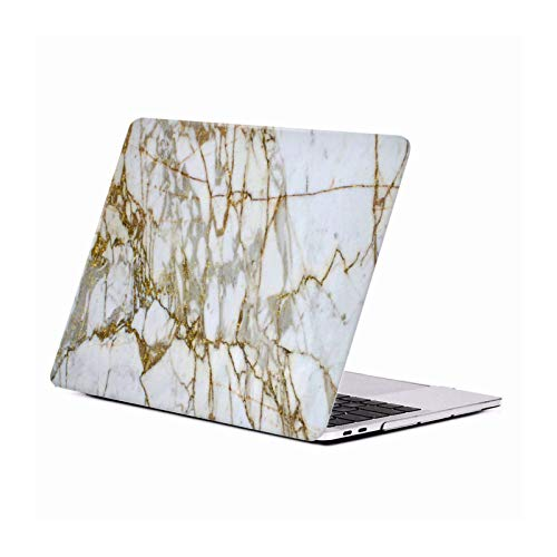 Head Case Designs Oficial Haroulita Oro Mármol Carcasa Rígida Compatible con Macbook MacBook Pro 13' A1989 / A2159