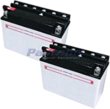 Set Of 2 Mower Battery Replaces MTD 753-0608 725-1438 725-1635