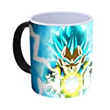 Dragon Ball Super Vegeta Super Saiyan God Blue Tazza Cambia Colore in Ceramica -300ml