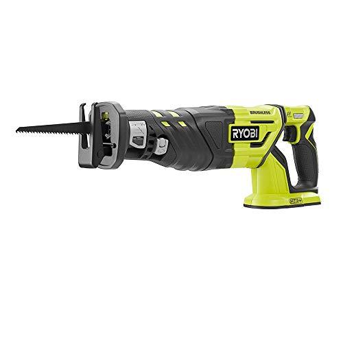 RYOBI 18-Volt ONE+ Cordless Brushless Reciprocating Saw (Tool Only) (P517) (Renewed)