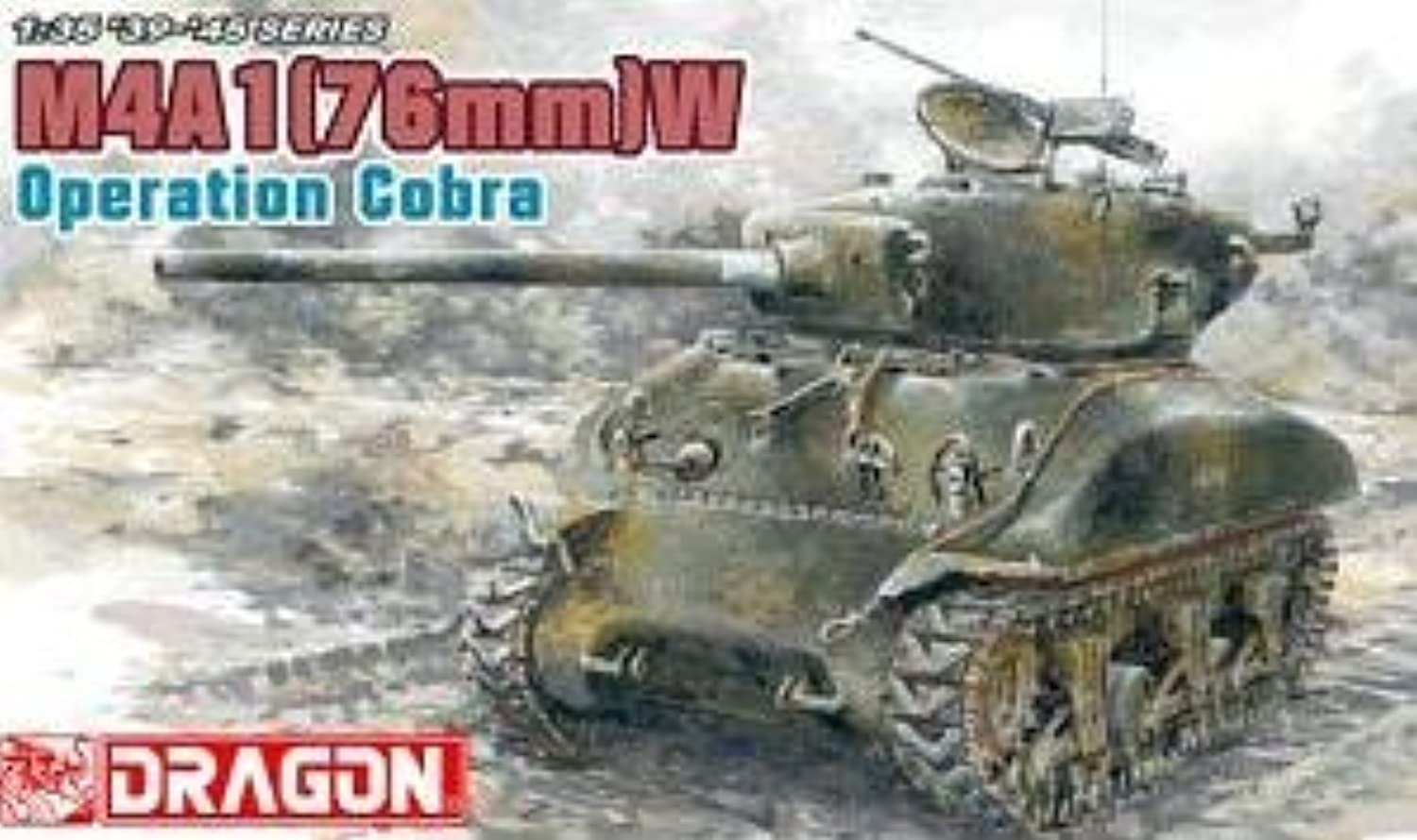 1 35 35 35 Sherman M4A1(76)W by Dragon Models USA 526a7b
