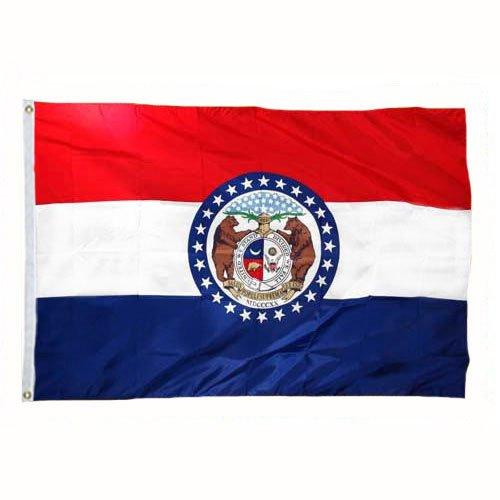 Cheap mail order sales Missouri Flag 8X12 Nylon It is very popular Foot