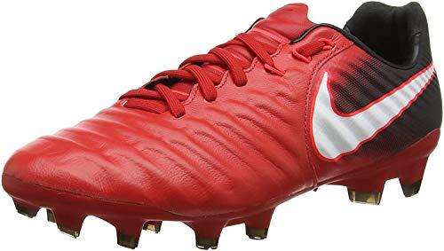 Nike Tiempo Legacy III FG, Scarpe da Calcio Uomo, Rosso (University Rosso/Bianco/Nero 616), 40.5 EU