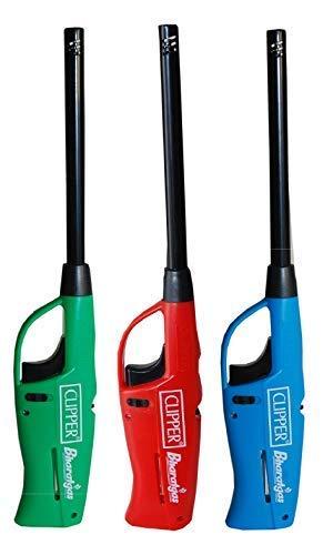 Clipper Lighter - SMARTLITE Refillable Multipurpose Flame Lighter (Pack of 3)