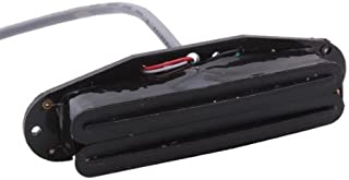 DN Black Dual Rail Humbucker Strat Guitar Neck Pickup 4 Wire
