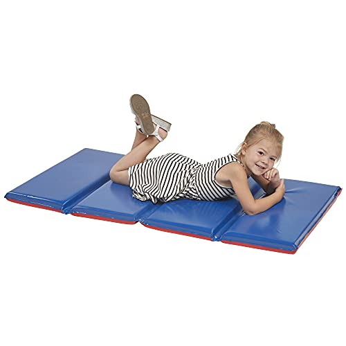 ECR4Kids 2-Inch Thick Premium 4-Fold Daycare Rest Mat Product Image