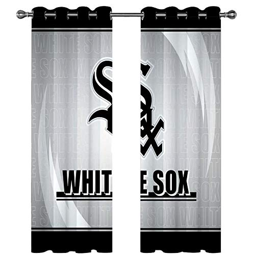 HUILIYI 3D Digital Printing Stereo CurtainsBlack letters Kids Curtains 3d Curtains With eyelet for bedroom living room insulation W66 x H90(336x229cm)