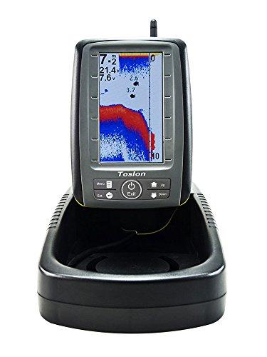 Carp Madness Farb Echolot Futterboot Fishfinder Funkecholot TF500 Toslon 500 TF Wireless sonar