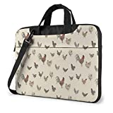 Art Chicken Animal Painting Impreso Laptop Bag, Business Briefcase
