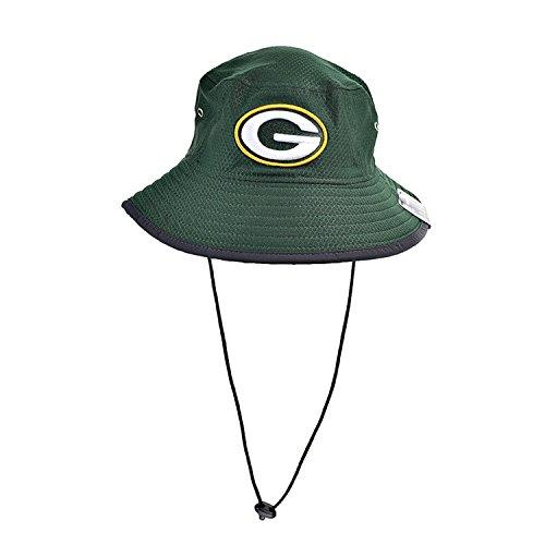 New Era Green Bay Packers NFL 17 Men's Training Bucket Hat Green/White/Yellow 11459752 (Size os)