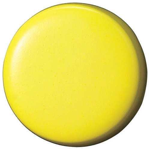 両面強力カラーマグネット18(コーティングタイプ) 黄