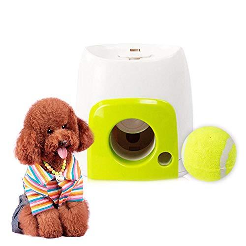 Morningtime Lanzador Automatico De Pelotas para Perros, Juguetes...