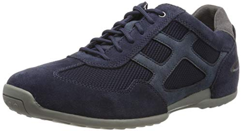 camel active Herren Space 38 Sneaker, Blau (Midnight 3), 42 EU